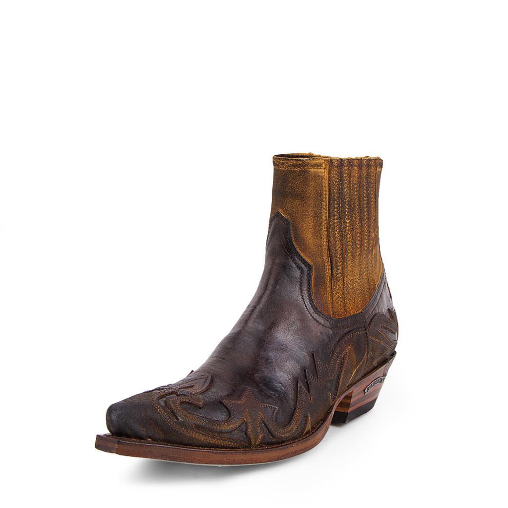 Ref 4660 Sendra boots Cuervo Serraje Camello Barbados Quercia Homme, Femme