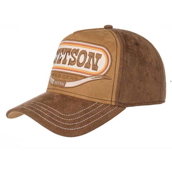 casquette marron Trucker Cap Buffalo Horn