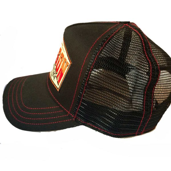 Trucker Cap AMRICAN HERITAGE STETSON NEW collection noir2