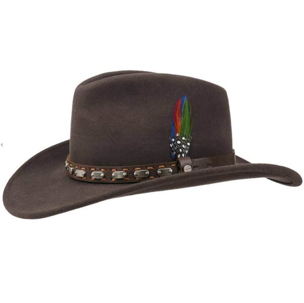STETSON MARRON ref 3298104 Western country by Stetson homme, femme