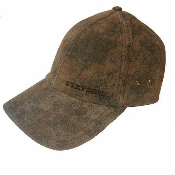 Stetson 7717105 BASEBALL CAP MARRON PIGSKIN HOMME:FEMME LA JOYA WESTERN