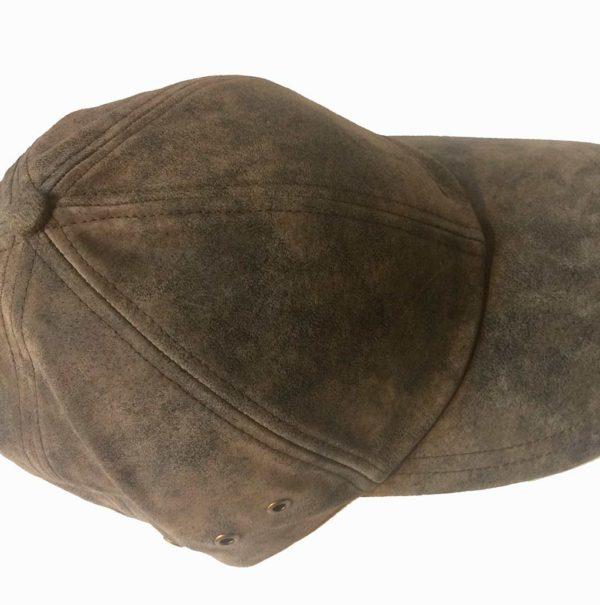 Stetson 7717105 BASEBALL CAP MARRON PIGSKIN HOMME:FEMME LA JOYA WESTERN2