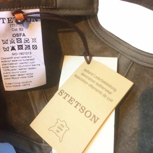 Stetson 7717105 BASEBALL CAP MARRON PIGSKIN HOMME:FEMME LA JOYA WESTERN3
