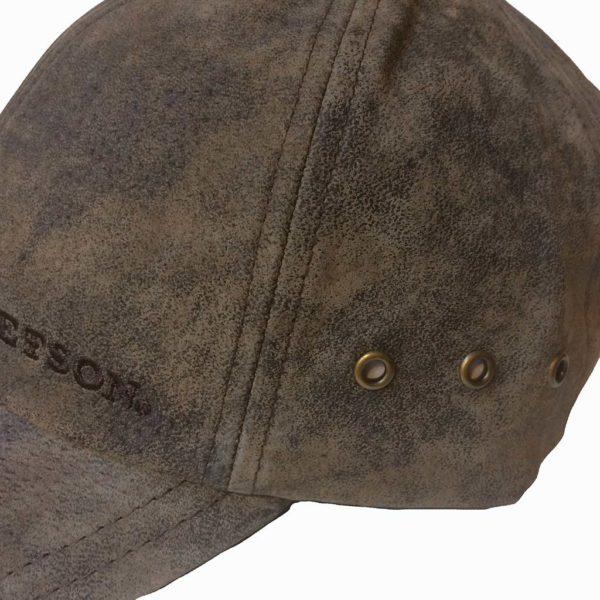 Stetson 7717105 BASEBALL CAP MARRON PIGSKIN HOMME:FEMME LA JOYA WESTERN4