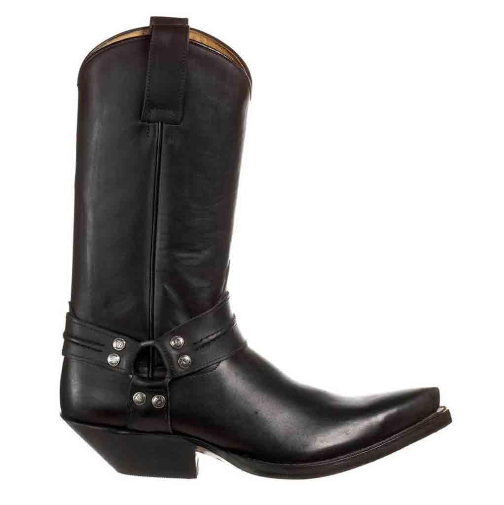 3305 Sendra boots Cuervo Pull Oil Negro FemmeHomme