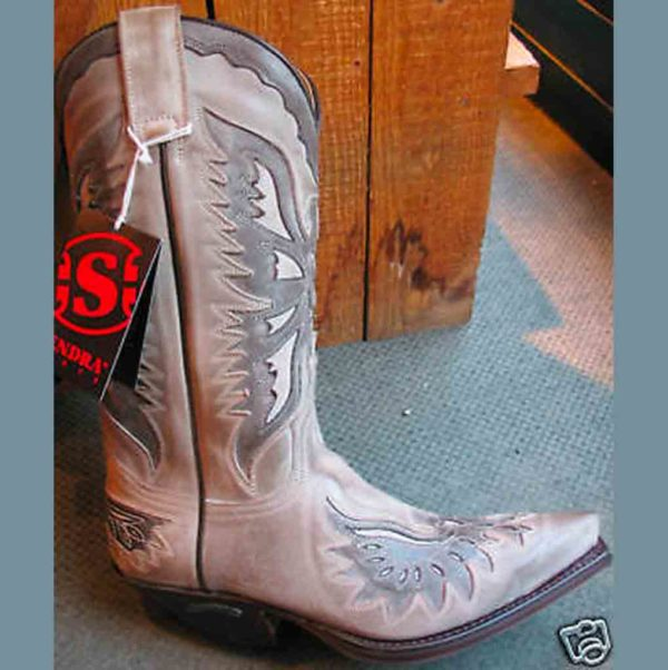 8994-SENDRA-GRISE-POINTUE-HOMME_FEMME-country-western-la-joya