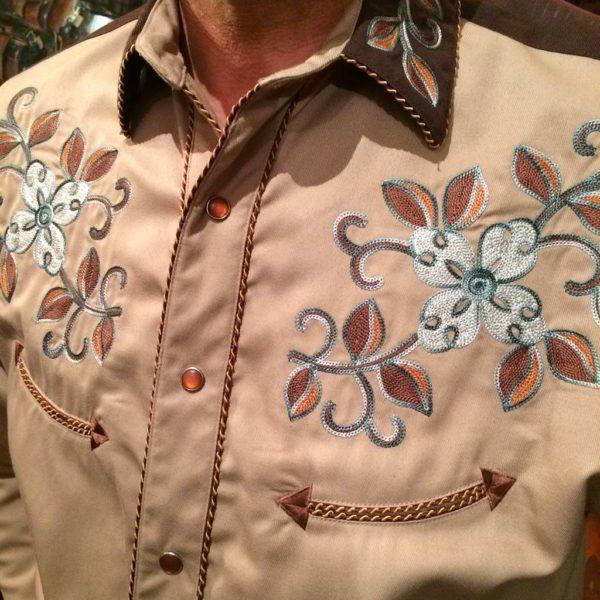 36S7402-chemise-country-western-panhandle-slim-beige_marron-avec-broderie-fleur-série-limited-homme-la-joya1