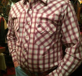 chemise-carreaux-country-western-WRANGLER--ROUGE-PRUNE_beige---série-limited-homme-la-joya-