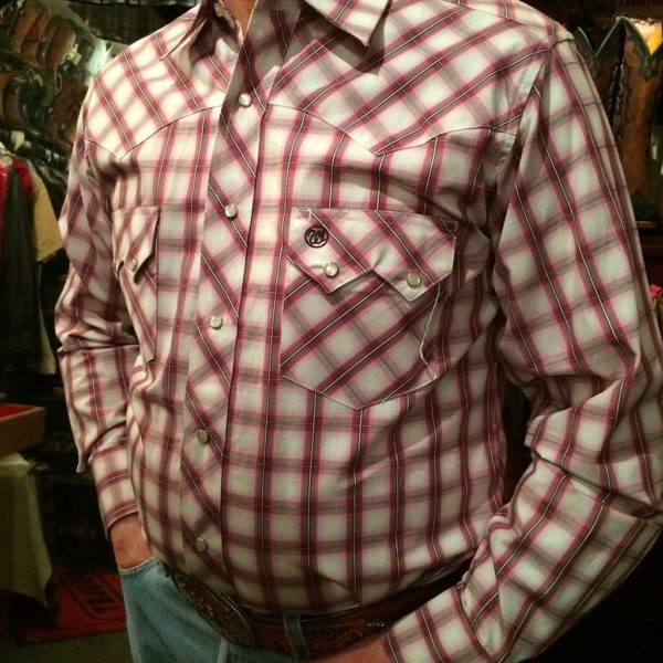 chemise-carreaux-country-western-WRANGLER–ROUGE-PRUNE_beige—série-limited-homme-la-joya-