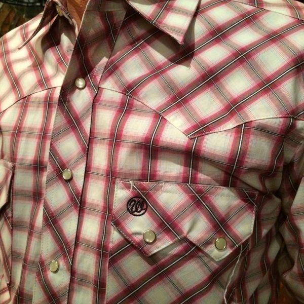 chemise-carreaux-country-western-WRANGLER–ROUGE-PRUNE_beige—série-limited-homme-la-joya-1