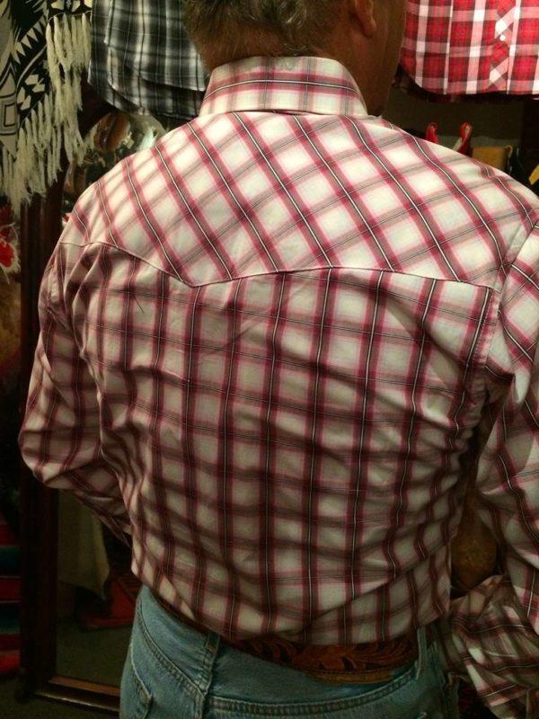 chemise-carreaux-country-western-WRANGLER–ROUGE-PRUNE_beige—série-limited-homme-la-joya-4