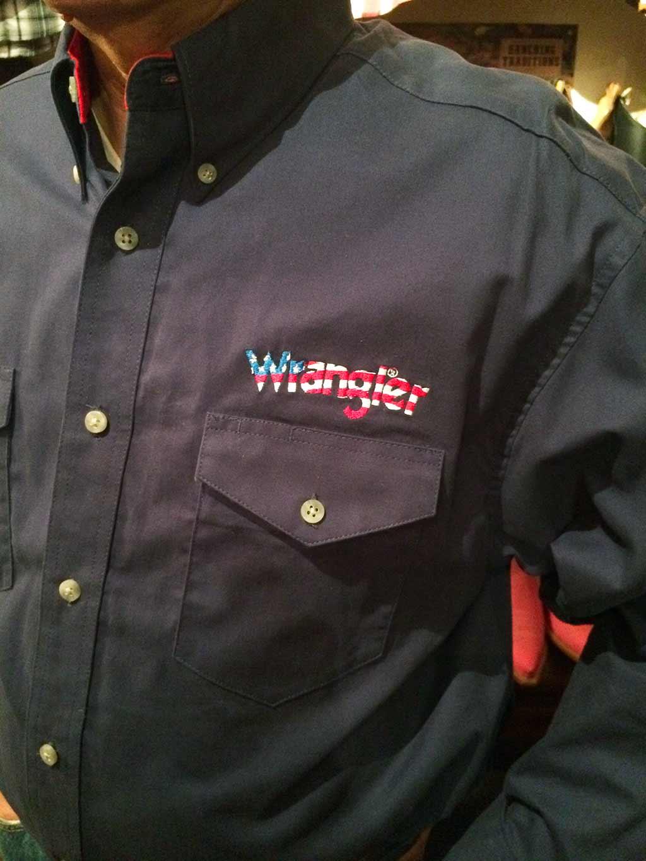 Country Bleu Wrangler Chemise RefMp2076b Western Color Série Limited Homme Marine TFKJc3l1