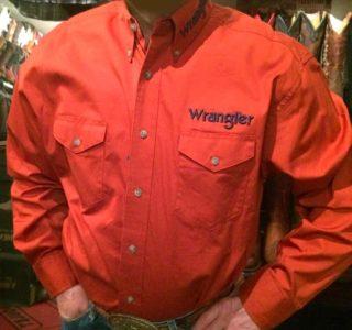 chemise country western WRANGLER homme la joya