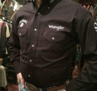 chemise-country-western-WRANGLER--noire--jack-daniel's-série-limited-homme-la-joya-