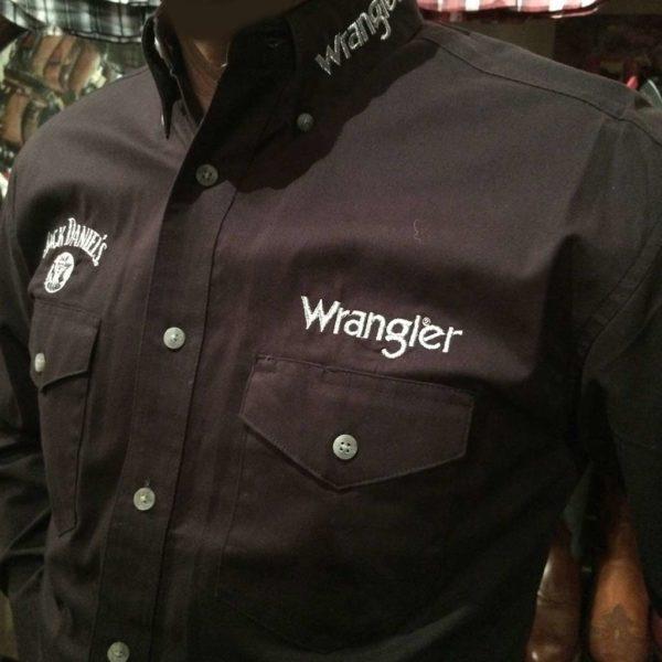chemise-country-western-WRANGLER–noire–jack-daniel's-série-limited-homme-la-joya-1