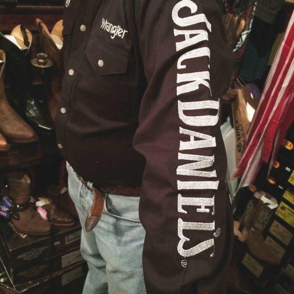 chemise-country-western-WRANGLER–noire–jack-daniel's-série-limited-homme-la-joya-5