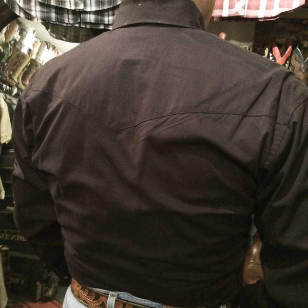 chemise-country-western-WRANGLER–noire–jack-daniel's-série-limited-homme-la-joya-6