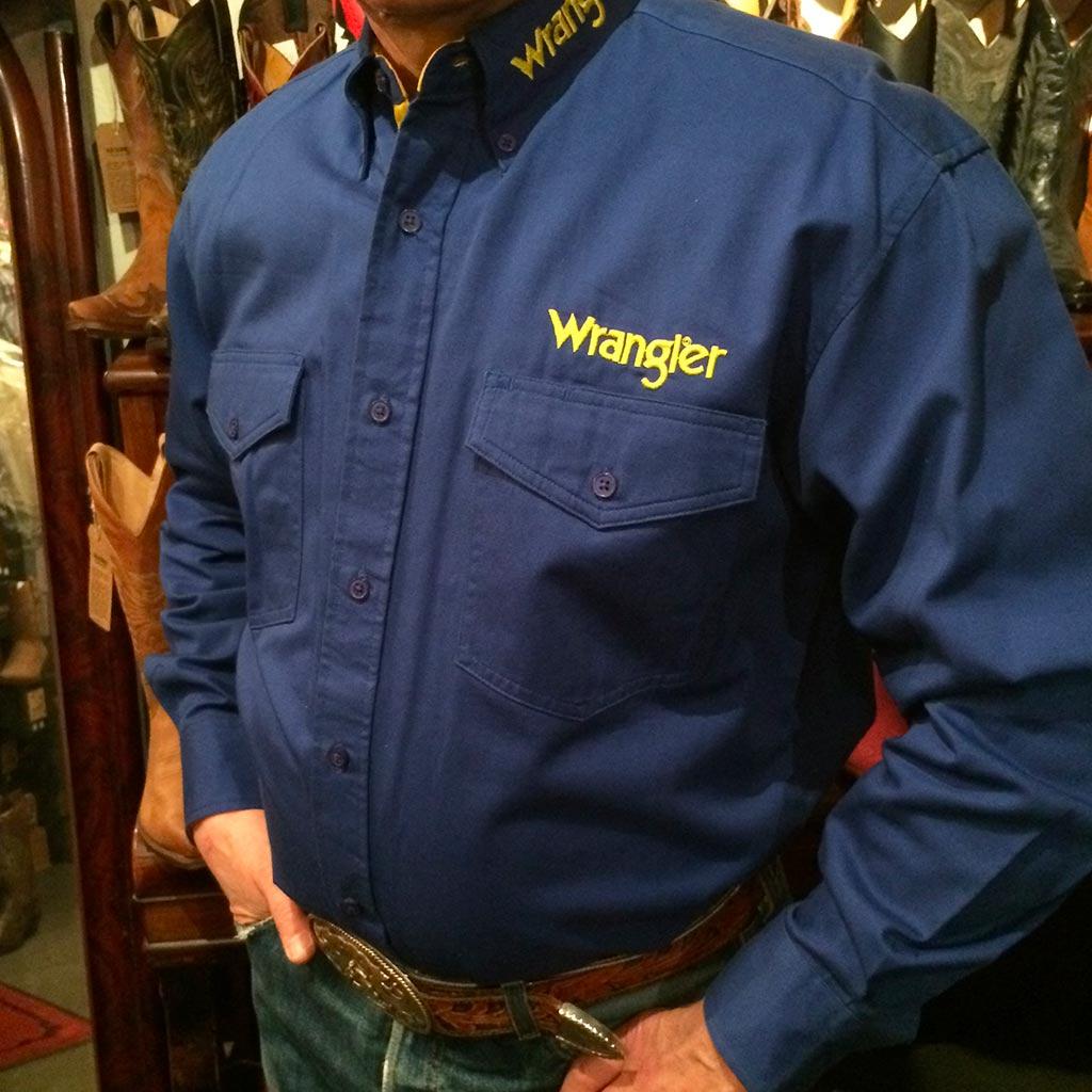 Country Homme Western Chemise Limited Wrangler Série ONn08vmw
