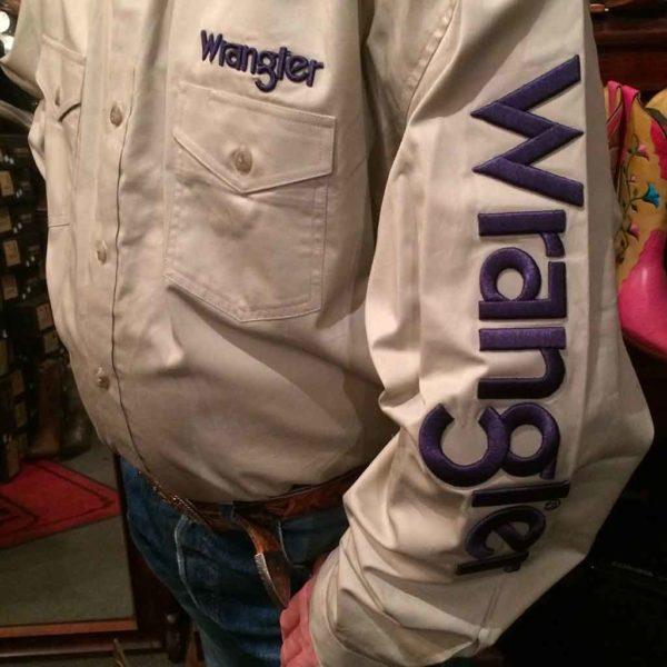 chemise-wangler-western-country-homme-rodéo-beige-clair–avec-broderie-la-joya-western4