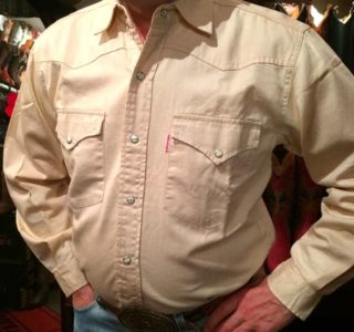 chemise western ref SHOOTER homme BEIGE jean's lajoya