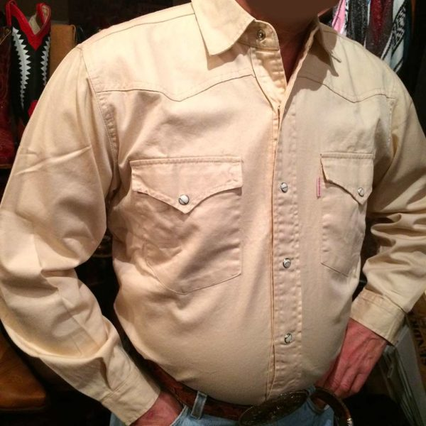 chemise western ref SHOOTER homme BEIGE jean's lajoya2