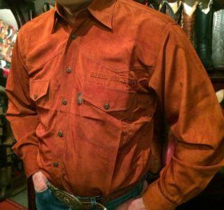chemise western ref indien Stras and Stripes homme marron motif imprimé indien lajoya