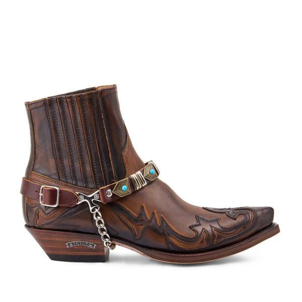 arnes_50_brown sangle botte sendra homme:femme country western la joya1