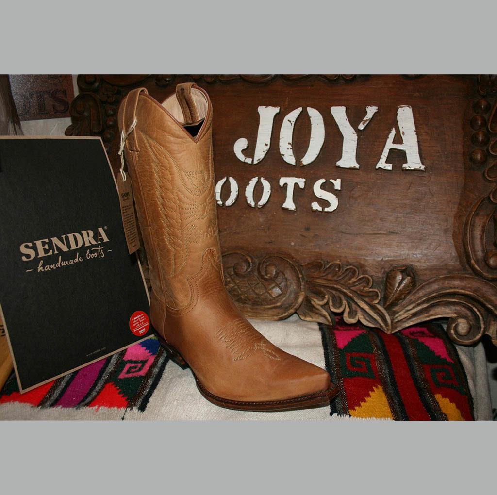 2073 santiag en cuir Sendra couleur miel série limited Homme   La Joya Western Store