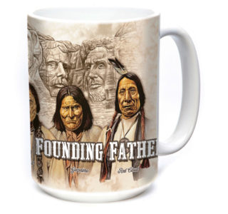 5736150 - The Originals 15oz Americana Ceramic Mug The Mountain lajoya western1