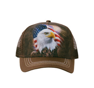 9448489-Casquette-The-Mountain-Adult-Trucker-Hat-Independence-Eagle-homme-femme-la-joya-western-maron