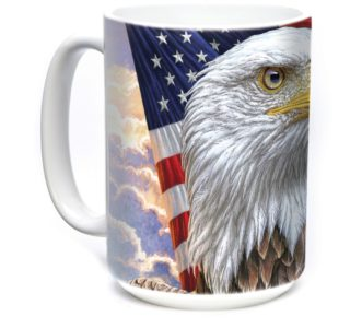 Ref5748480 Independence Eagle 15oz Bird Ceramic Mug The Mountain lajoya western1