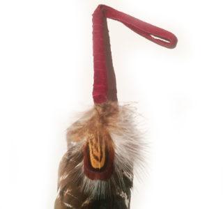 plume-indienne-Huron-FUSCHIA-fait-main-au-Canada-la-joya-western1