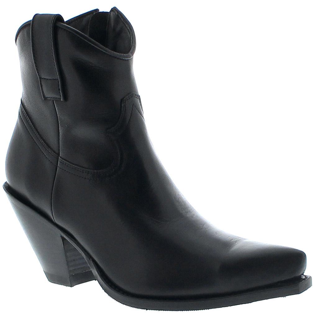 vente énorme magasin officiel grandes variétés ref: 15521 Sendra Boots Negro Ladies Western Boots - black Femme